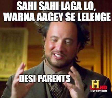 Desi Parents