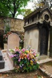 A beautiful sight in a haunting place - The Pere Lachaise cemetery in Paris