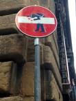 Cops loooove Street Signs?