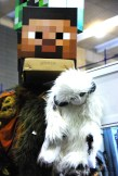 A mine-head and a Bantha pelt (Oh no is that an Ewok?!)