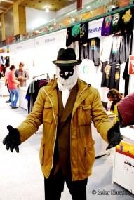 A brilliant Rorschach cosplayer