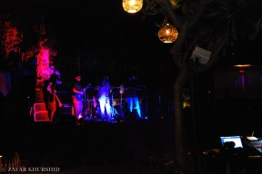 Left to Right: Amar Pandey (Bass/Vocals), Sharan Subrahmanyam (Guitar), Aranya Sahay (Lead Vocals), Kabir David (Guitar)