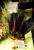 A fabulously colourful Tribal Headdress