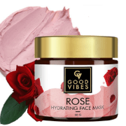 Good Vibes Rose Hydrating Face Mask