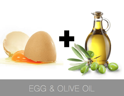 Eggs And Olive Oil To Make Hair Straight Naturally At Home