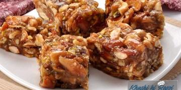 पार्टी पसंदीदा ड्राई फ्रूट बर्फी | How to make Dry fruits barfi