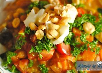 मूँगफली का स्ट्यू रेसिपी | How to make Amazing Groundnut's stew