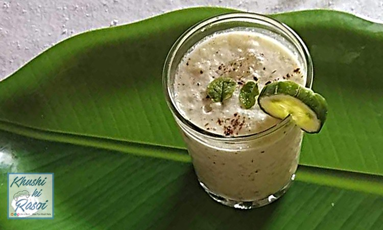 खीरे की लस्सी रेसिपी | How to Make Refreshing Cucumber Mint Lassi