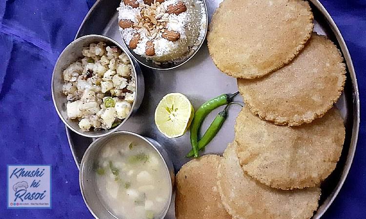 कुटटू की पूरी रेसिपी | Navratri Special yummy Kuttu ki Puri Recipe