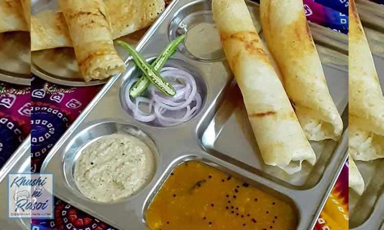 सांबर डोसा रेसिपी | How to Make Delicious Sambhar Dosa at home