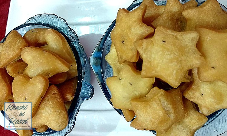 नमक पारे रेसिपी | How to make Easy and Crispy Namak Pare