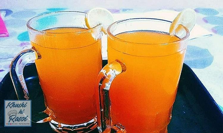 संतरे का जूस रेसिपी | How to Make Easy and Refreshing Orange Juice