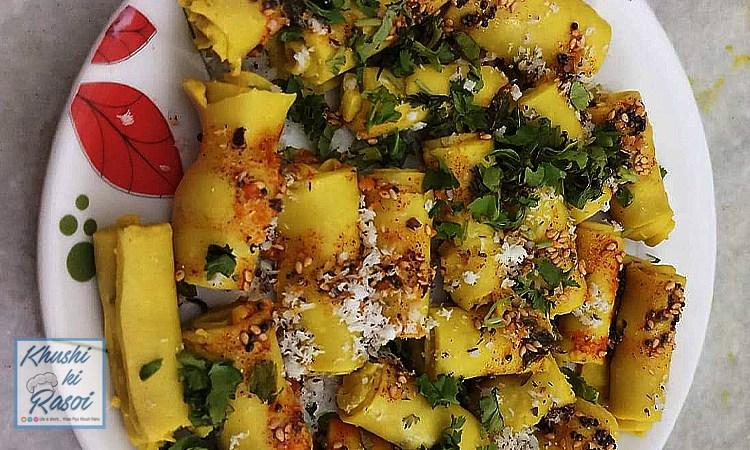 खांडवी कैसे बनाते है ? | How to Make Delicious Khandvi at home
