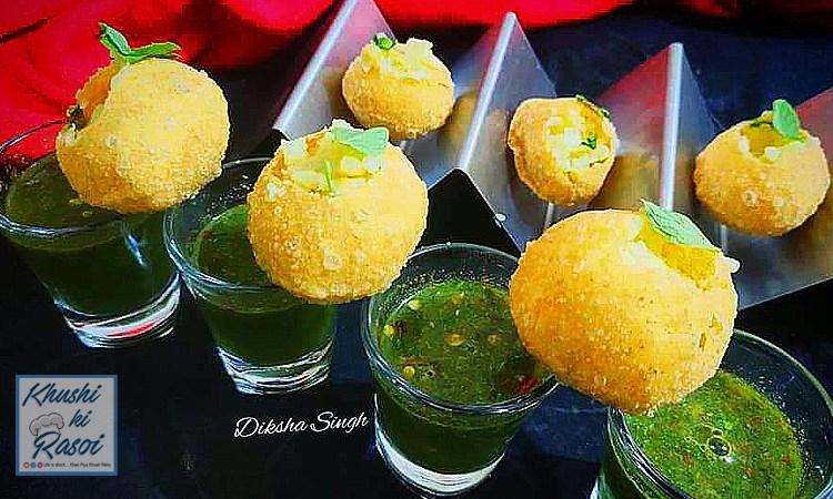 पानीपुरी ( गोलगप्पे ) रेसिपी | How to Make Delicious Panipuri ( Golgappe )