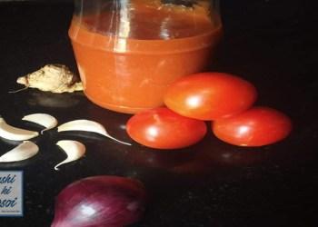 टोमैटो सॉस रेसिपी | How to Make Amazing Tomato Sauce at home