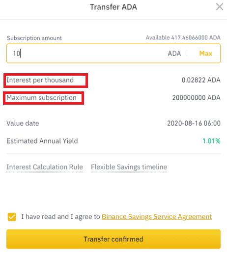 বাইন্যান্স সেভিংস কি? 002-savings