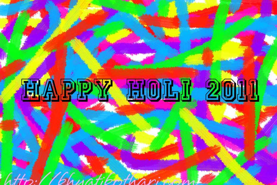 Happy Holi 2011