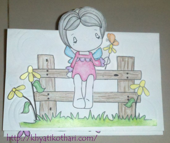 Easel Card Front Card16