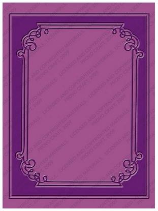 Shop n Splurge!!! Cuttlebug Embossing Folder Graces Frame