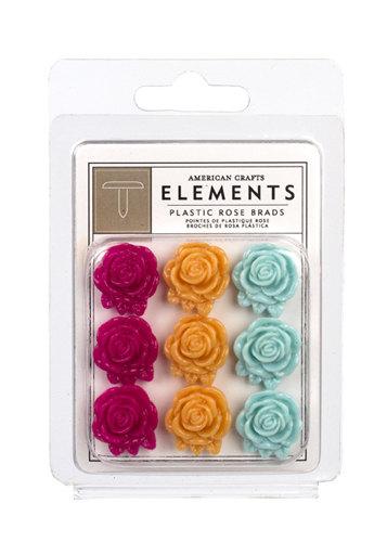 Shop n Splurge!!! Rose Brads Peachy Keen Elements