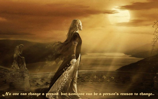 No one can change a person LifeQuote87