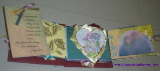 Some pictures of Valentines Day Album Scrapbook4 6