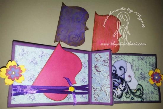 Another Paper Bag Mini Album Scrapbook6 9