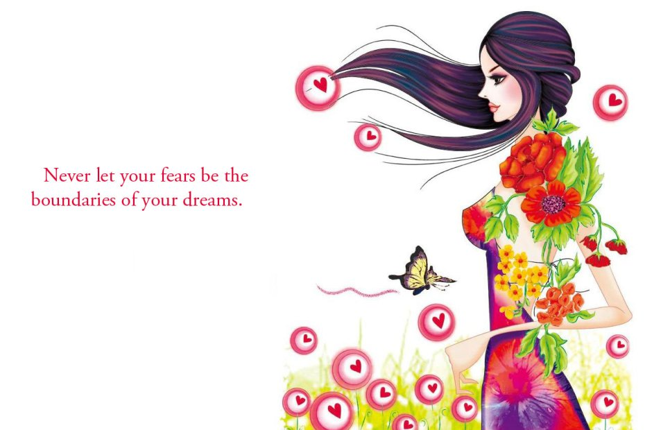 Never let your fears be the boundaries of your dreams. InspirationalQuote18