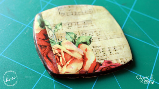 Make your own Clay coasters 4 2