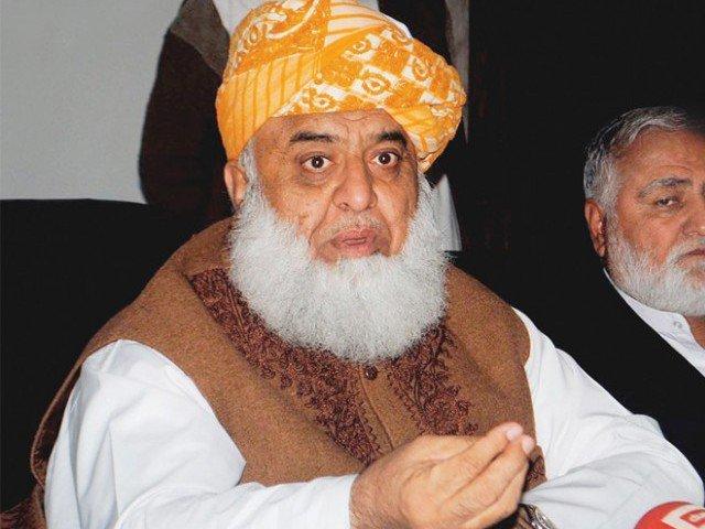 صدارتي اميدوار مولانا فضل الرحمان به نن د کراچۍ دوره کوي