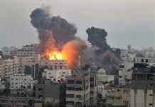 غزه کښې اسرائيلې جنګې الوتکو فضائې کارروائي، دوه ځوانان په حق رسېدلي