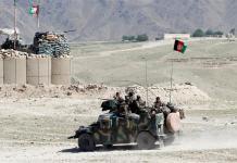 دافغانستان غزني ولايت کښي د وسله والو او فورسز ترمينځه انښتے رواني دي