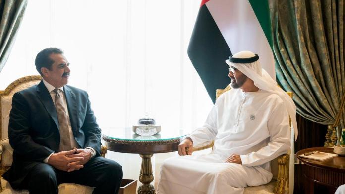 دمتحده عرب امارات ولې عهد داسلامې عسکرې اتحاد مشر راحيل شريف سره ملاقات کړي