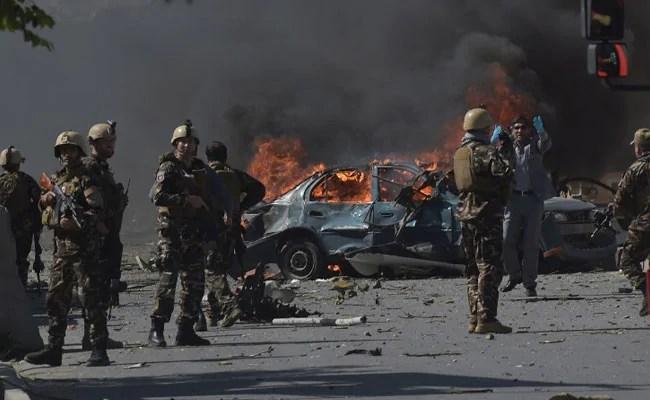 کابل کښې ځانمرګي بريد کښې څلوراهلکار په حق رسيدلي