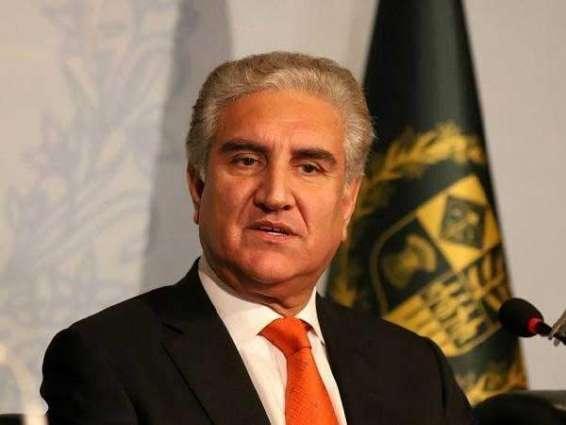 افغانستان کښې امن د پاکستان خپل مفاد لپاره هم ضروري دے، شاه محمود قريشي