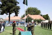 کابل کښې پاکستاني سفارتخانه کښې هم د يوم پاکستان په مناسبت دستوره شوے