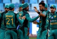 پاکستان به نن خپل دويم وارم اپ ميچ د بنګله ديش خلاف لوبوي