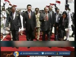چینی صدر کے دورہ پاکستان میں سندھ بلوچستان اور پختونخوا نظر انداز