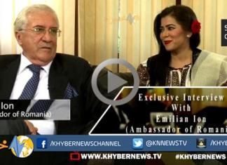 Exclusive Interview of Romanian Ambassador with Nadia Khattak