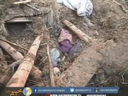 گھر کی چھت گرنے سے خاتون چار بچوں سمیت جاں بحق