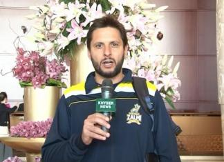 Captain of Team Peshawar Zalmi Shahid Afridi messages for viewers.....