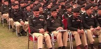 KP IGP Nasir Durrani visited Kohat: Report by Ashfaq Bangash