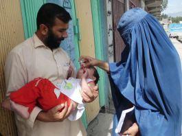 Anti-polio immunization drive