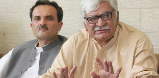 NAB unable to probe corruption, irregularities in KP govt's projects: Asfandyar Wali