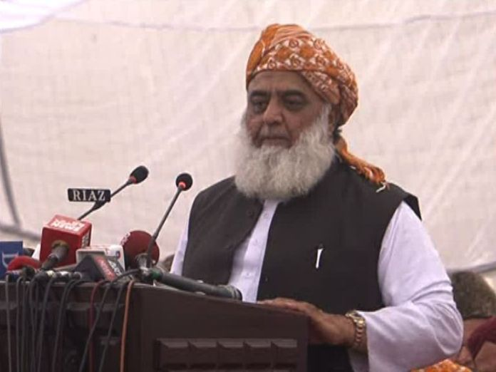 Maulana Fazl warns govt to prepare for Islamabad long march
