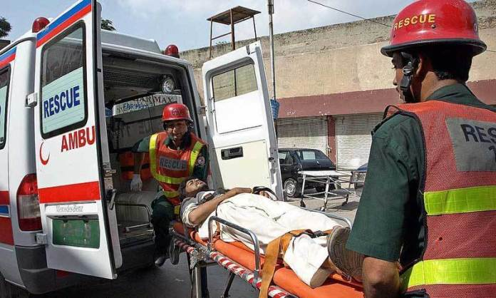 Four killed, one injured in Chaman road accident