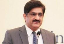 CM Sindh Murad Ali Shah