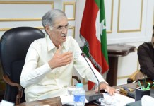 CM Pervez Khattak