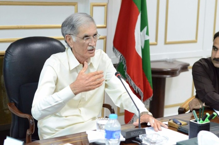 CM Pervez Khattak on FATA