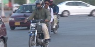 Pillion riding banned during first 10 days of Muharram in Peshawar